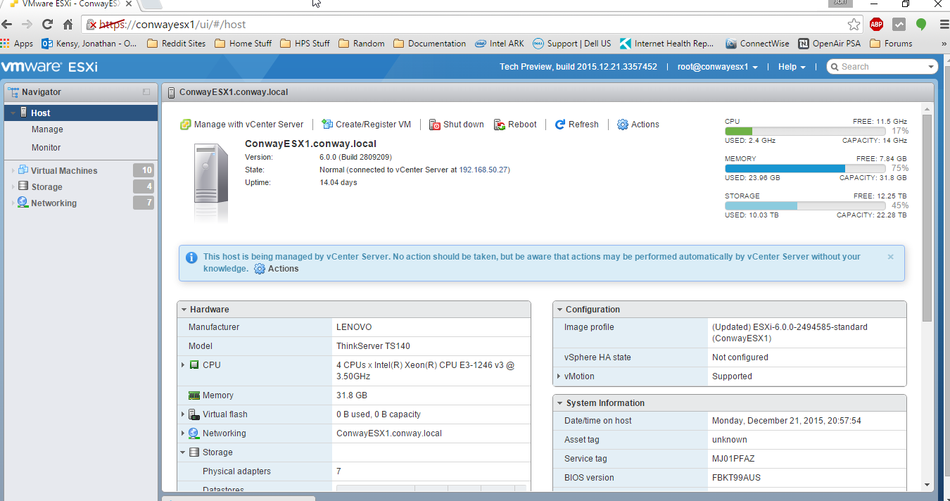 how to download vsphere client from esxi server