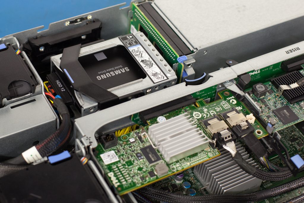 R510 HBA and SSD