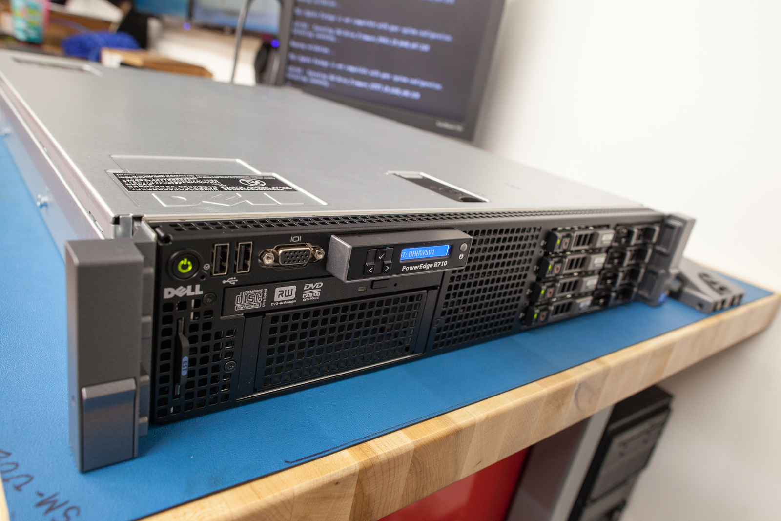 """Dude you're getting a Dell, again! My """"brand new"""" R710! 