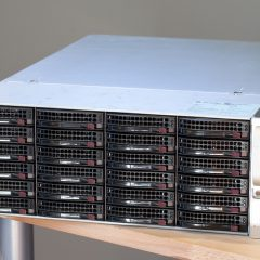 Bays for days: Intel S2600CP2J meets Supermicro 24-bay SC846