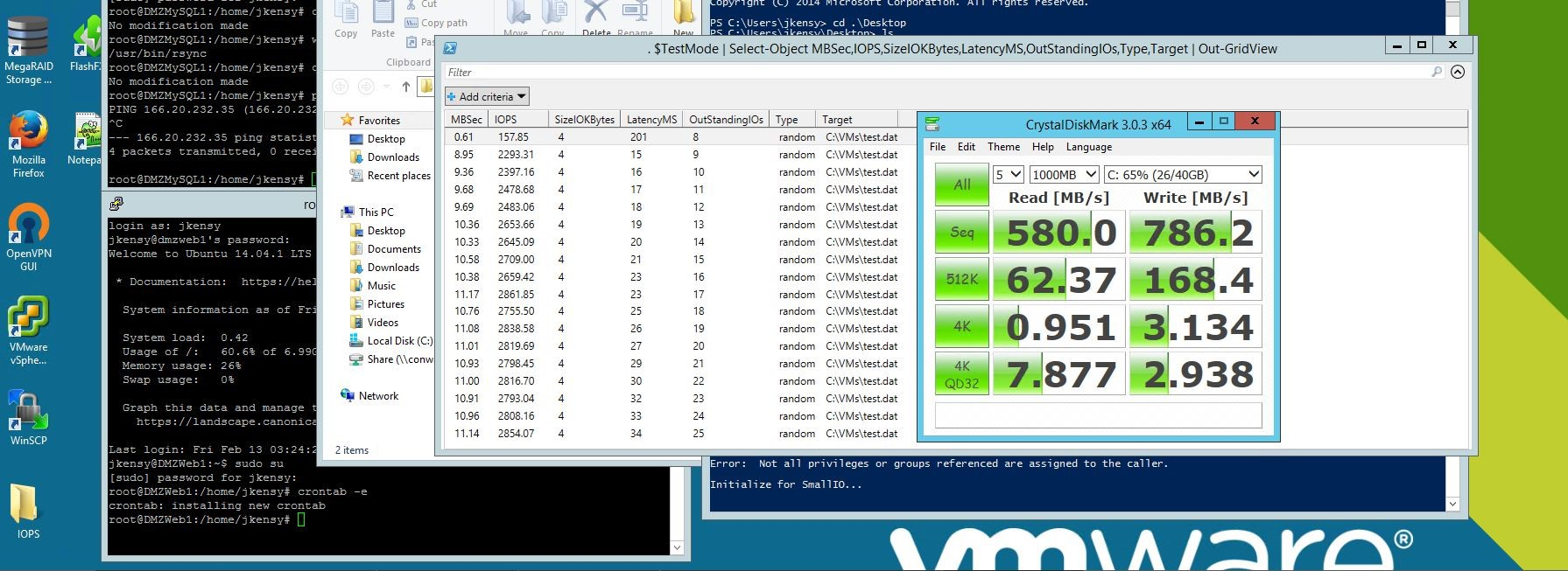 How does disk performance really affect VMs? Part II | JonKensy com