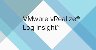 vRealize LogInsight 4 – Part 1: Security and Planning Considerations